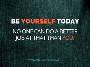 Be Yourself today (1)